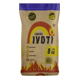 Carvão de Acácia Negra Ivoti Pacote 8kg