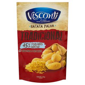 Batata Palha Tradicional Visconti Sachê 140g