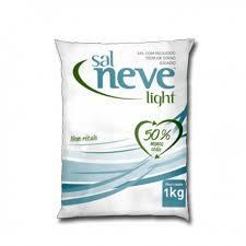 Sal Refinado Sal Neve Light 1Kg
