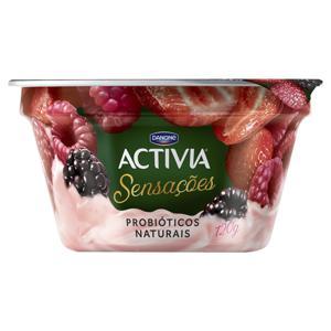 Iogurte Frutas Silvestres Activia Sensações Pote 120g