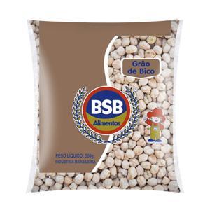 Grão de Bico BSB ALIMENTOS 500g