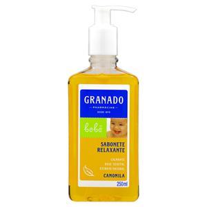 Sabonete Líquido Relaxante Camomila Granado Bebê Frasco 250ml