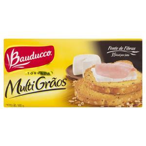 Torrada Multigrãos Bauducco Pacote 160g