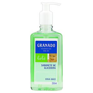 Sabonete Líquido de Glicerina Erva-Doce Granado Bebê Frasco 250ml