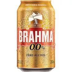 Cerveja Brahma Sem Álcool 350Ml