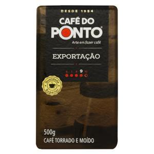 Café Torrado e Moído Superior a Vácuo Exportação Café do Ponto Pacote 500g