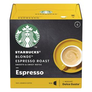 Cápsulas Starbucks Blonde Espresso Roast Caixa 66g 12 Cápsulas