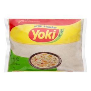 Farinha de Mandioca Tipo 1 Yoki Pacote 1kg