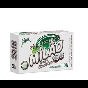 Sabão de Coco em Barra Milão 100g