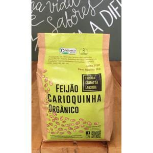 Feijão Carioquinha Orgânico 1 Kg FAZENDA CANTÃO DA LAGOINHA