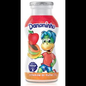 Iogurte Danoninho 170g Para Beber Vitamina de Frutas