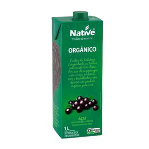 Suco de Açaí com Guaraná Orgânico 1L - Native