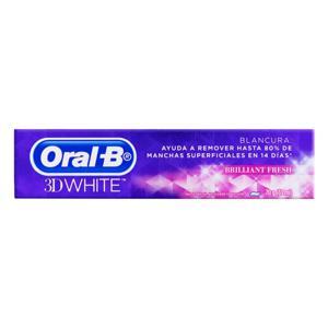 Creme Dental Oral-B 3D White Brilliant Fresh Caixa 70g
