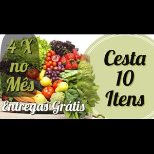 Plano Mensal 10 Itens ( 4 entregas no Mes)