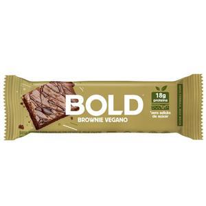 Barra Proteica Brownie Vegano Bold 60g