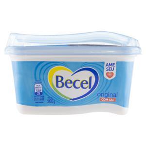 Creme Vegetal Original com Sal Becel Pote 500g