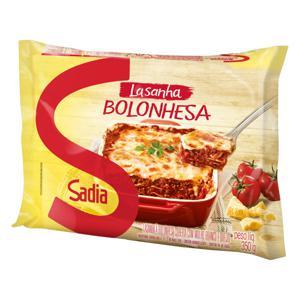 Lasanha Bolonhesa Sadia Pacote 350g