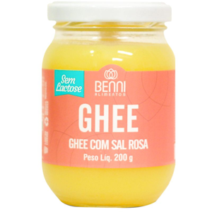 Manteiga Ghee com Sal Rosa BENNI 200g