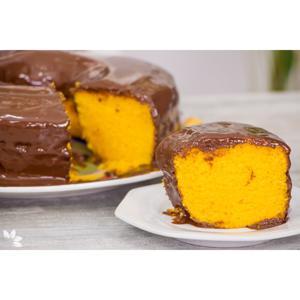 Bolo de Cenoura Com Chocolate PÃO DOURADO