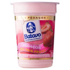 Iogurte Integral Morango Batavo Pedaços Pote 170g