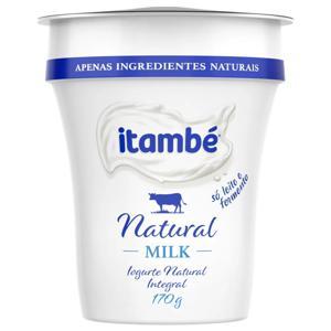 Iogurte Integral Natural Itambé Milk Copo 170g