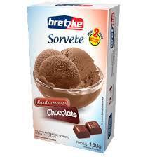 Sorvete Po Bretzke 150G Chocolate