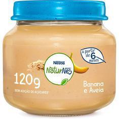 Alimento Infantil 120G Nestlé Banana e Aveia
