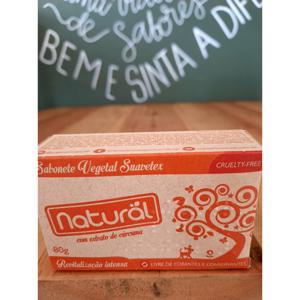 Sabonete Natural Com Extrato de Cúrcuma 80g ORGÂNICO NATURAL