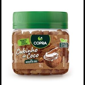 Cubinho de Coco Orgânico Copra 90g