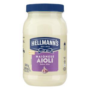 Maionese Aioli Hellmann's Pote 500g