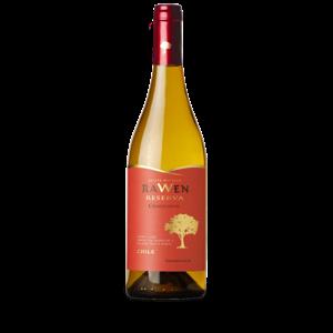 Vinho  Branco Chileno Rawen Reserva Chardonnay 750ml