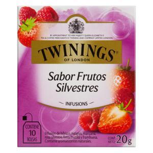 Chá Misto Frutas Silvestres Twinings Infusions Caixa 20g 10 Unidades