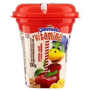Iogurte Integral Vitamina de Banana, Maçã e Aveia Danoninho Pote 130g