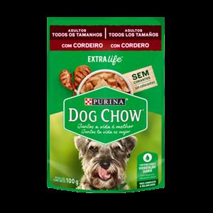 Alim Purina Dog Chow 100G Cordeiro