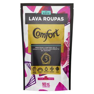Lava-Roupas Líquido Comfort Fiber Protect Sachê 900ml Refil