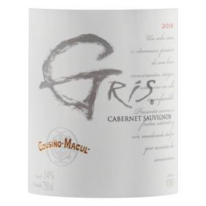 Vinho Chileno Rosé Seco Cousiño-Macul Gris Cabernet Sauvignon Garrafa 750ml