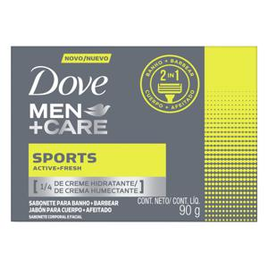 Sabonete Dove 90gr Men+Care Sport Active Fresh