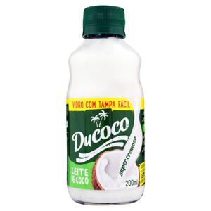 Leite de Coco Ducoco Vidro 200ml