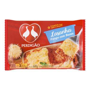 Lasanha Frango com Bacon Perdigão Pacote 600g