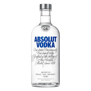Vodka Destilada Absolut Garrafa 750ml