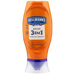 Molho Hellmanns 370G 3X1