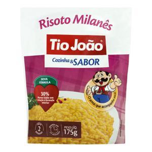 Risoto Semipronto Milanês Tio João Cozinha & Sabor Sachê 175g