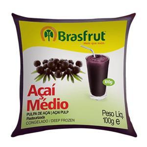 Polpa de Fruta BRASFRUT Açaí 100g
