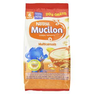 Cereal Infantil Multicereais Nestlé Mucilon Pacote 230g Grátis 20g