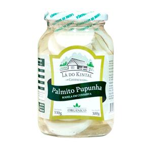 Palmito Pupunha Rodela em Conserva Orgânico 300g - La do Kintal