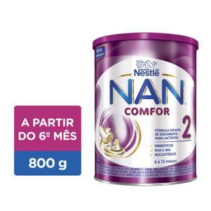Fórmula Infantil NAN Comfor 2 Nestlé Lata 800g
