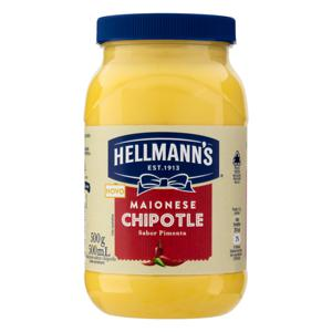 Maionese Chipotle Hellmann's Pote 500g