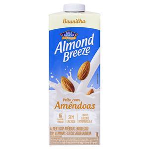 Bebida à Base de Amêndoa Baunilha Blue Diamond Almond Breeze Caixa 1l