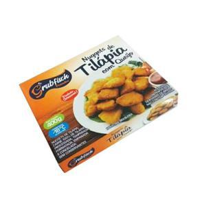 Nuggets de Tilapia com Queijo Aprox.400g - GrubFisch