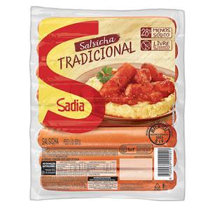 Salsicha Tradicional Sadia 500g